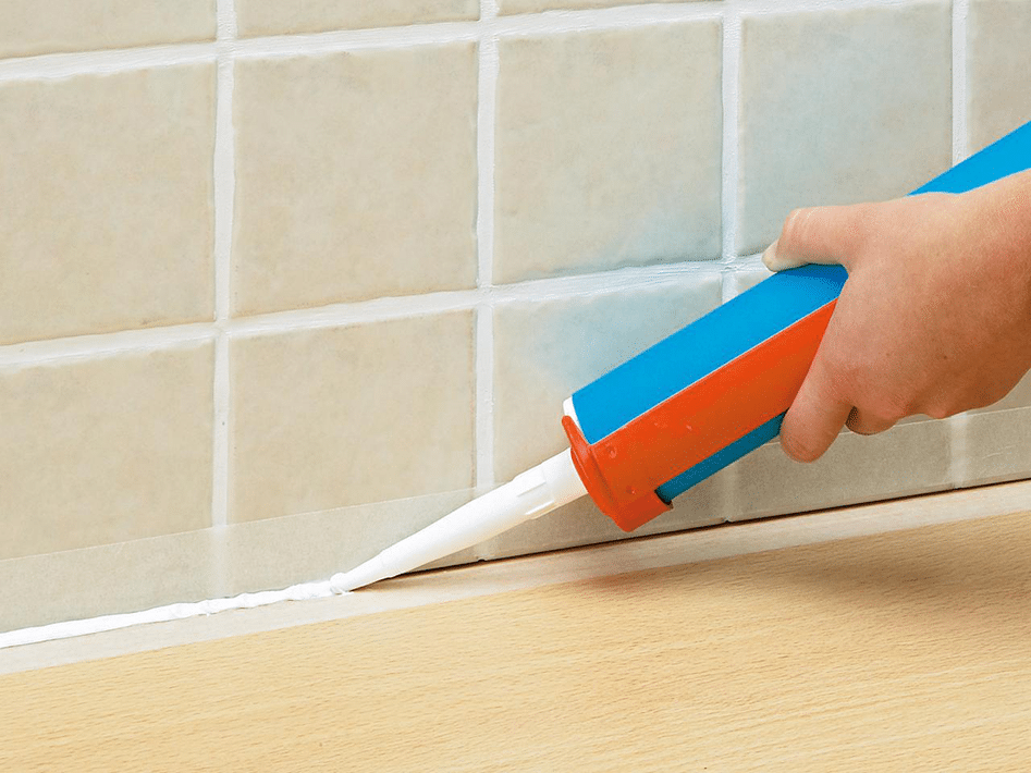 How to install silicone sealant
