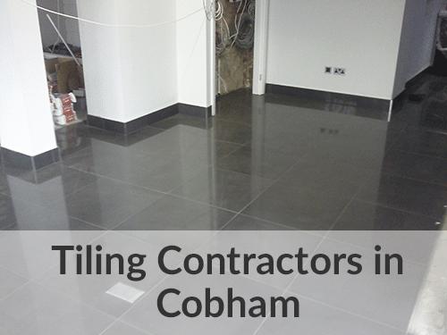 Tilers in Cobham