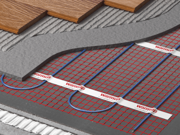 underfloor heating how it should be done