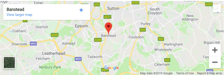 Banstead Map