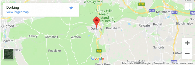Dorking Map