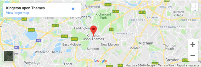 Kingston upon Thames Map