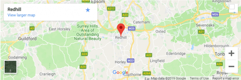 Redhill Map