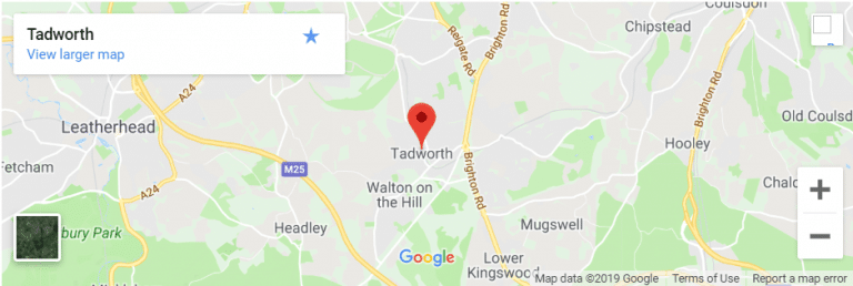 Tadworth Map
